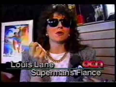 Death of Superman news segment