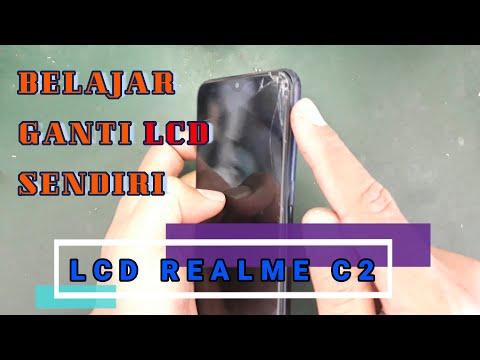 Cara Ganti LCD Realme C2 Dengan Mudah