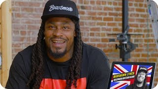 Marshawn Lynch Guesses What British Slang Words Mean // Omaze