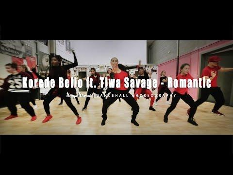 Maya Mehani Dancehall | Choreography Korede Bello ft. Tiwa Savage - Romantic