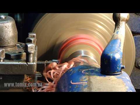 Реставрация роликов и колёс полиуретаном.