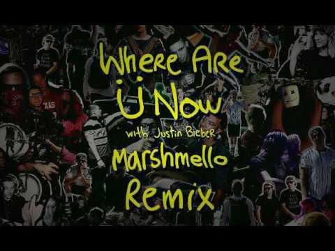 Jack Ü - Where Are You Now ( Marshmello Remix )(Skrillex Flip)