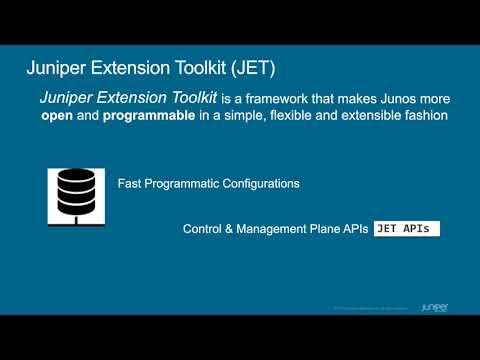 Juniper Extension Toolkit