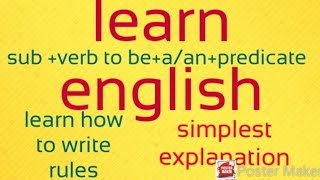 Easiest way to learn english