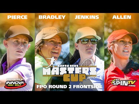 FPO Round 2 Frontside 2017 Masters Cup Presented by Innova (Pierce, Bradley, Jenkins, Allen)