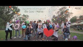 Film niespodzianka - życzenia od przyjaciół - dla Gosi i Mania