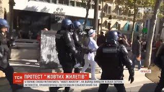 Сльозогінний газ та перші арешти: у Парижі знову мітингують ''жовті жилети''