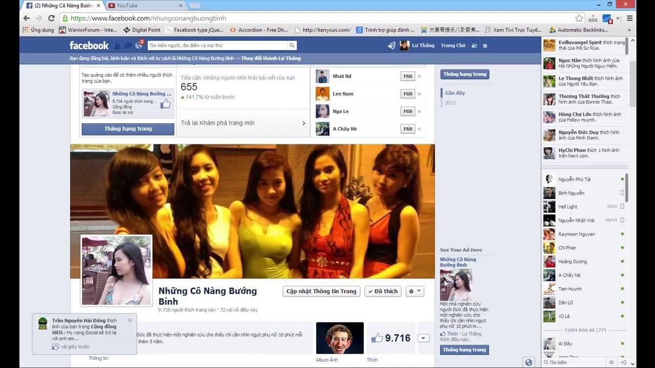 Hướng dẫn mời tất cả các bạn bè like fanpage Facebook (Invite all like fanpage facebook)