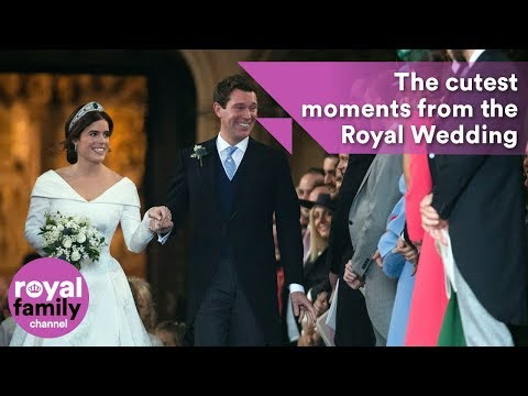 The cutest moments from Princess Eugenie's wedding