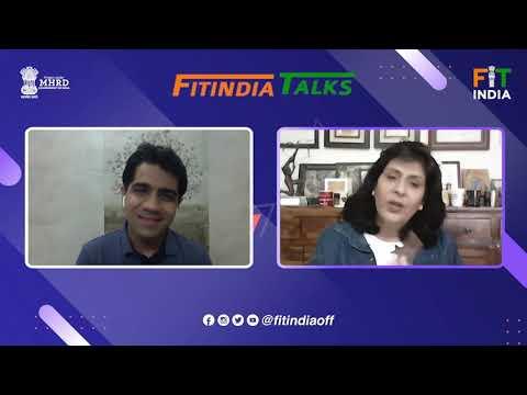#FitIndiaTalks फिट है तो हिट है इंडिया with DEEPA MALIK | Fit India Movement