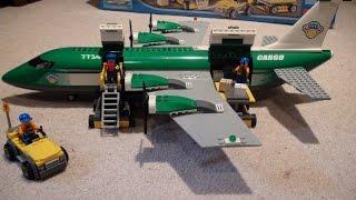 Lego Review: Lego City Cargo Plane 7734