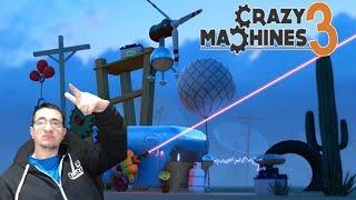 Como hacer que Javi vuele alto | Crazy Machines 3 | Ep. 2
