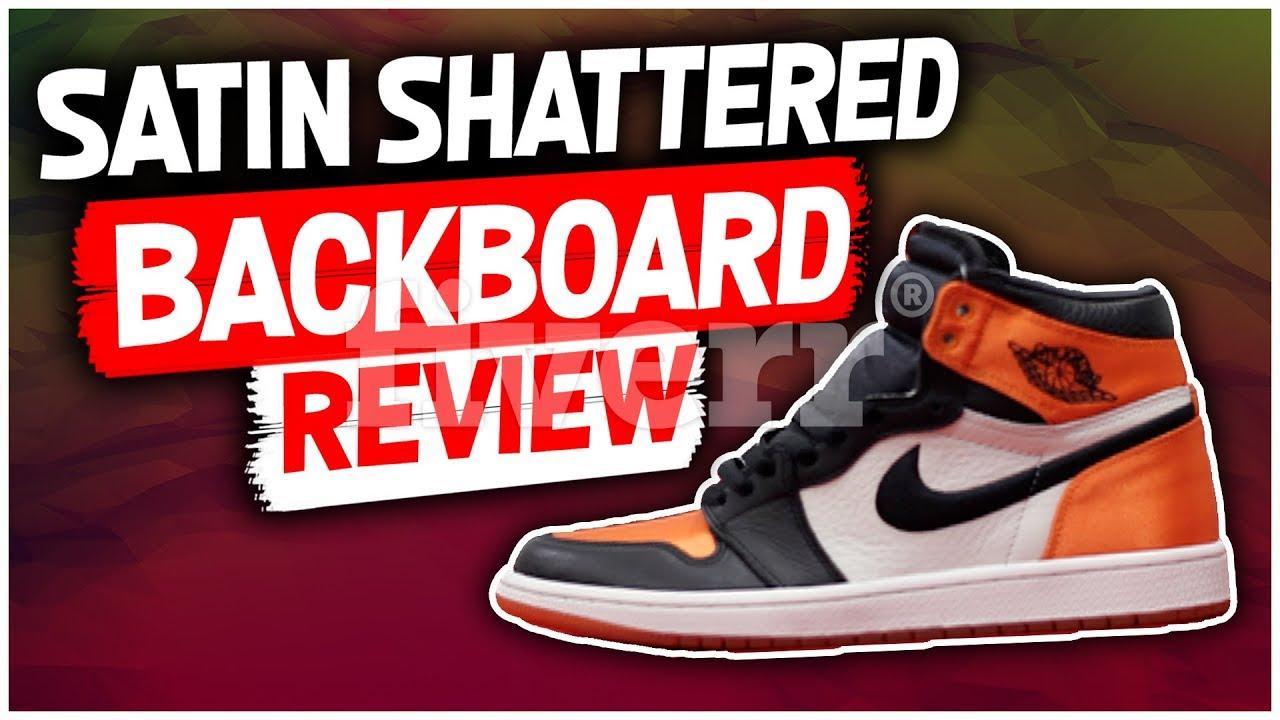 95edc7ffc1a Jordan 1 Shattered Backboard Review