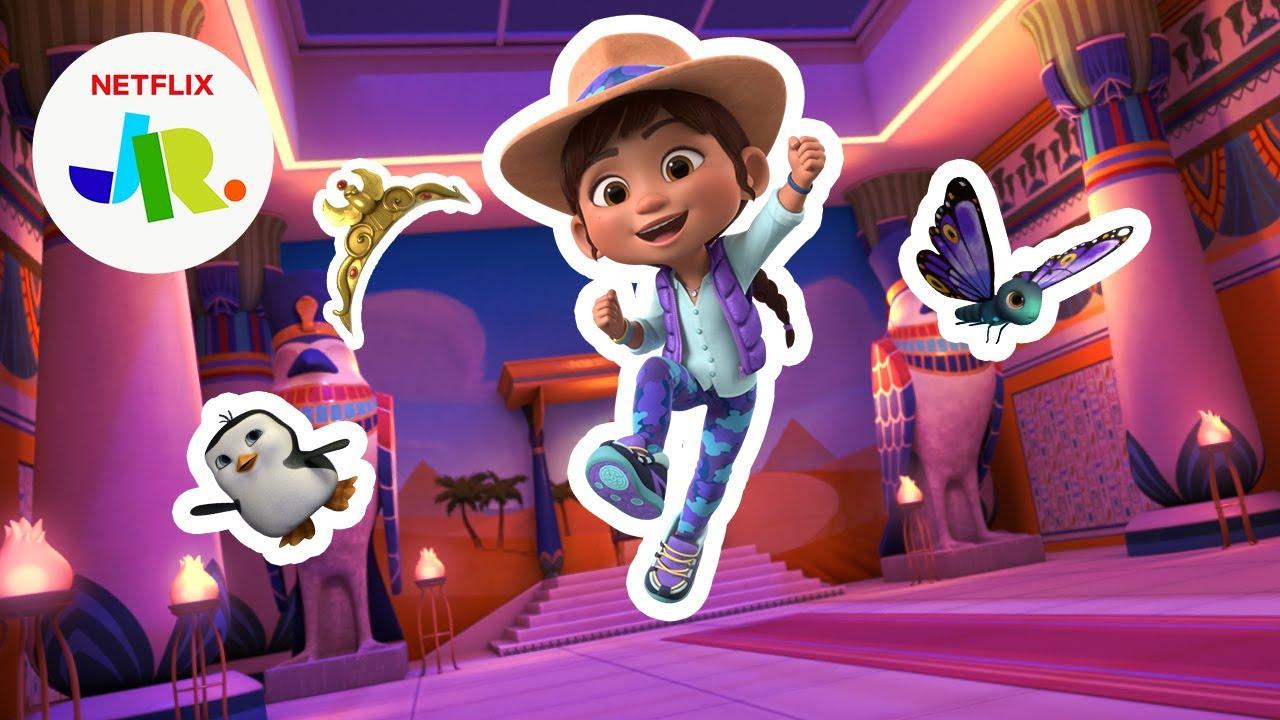Museum Lost & Found Game for Kids 🐧 Ridley Jones | Netflix Jr