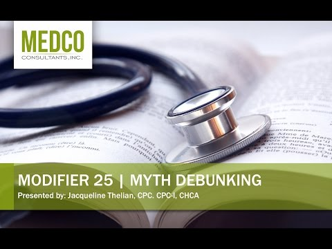 Modifier 25 Is On Medicare's Hit List – Are you Getting It Right?