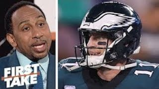 Stephen A  Eagles win over 'pathetic' Giants gives 'no evidence' they are back  First Take