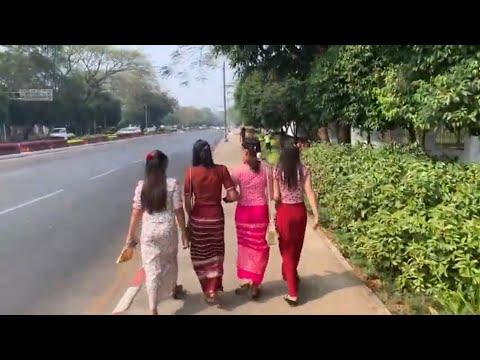 A Day in Yangon Myanmar