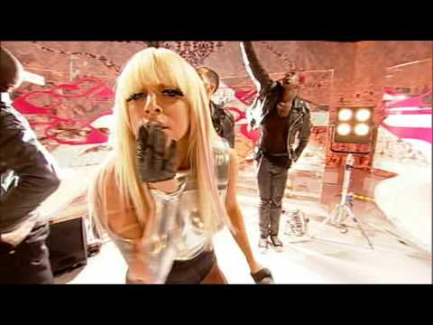 Lady GaGa - Just Dance - Live on T4 (18/01/09) [HQ]