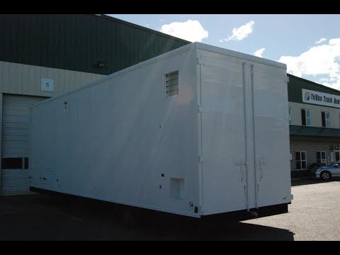 TriVan Truck Body & Friesla - Mobile Meat Processing Unit