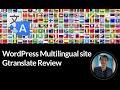 WordPress Multilingual site - Gtranslate Review