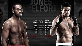 LIVE COMMENTARY EA SPORTS UFC Online Gameplay Vitor Belfort Vs Jon Jones