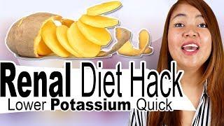 How to Lower Potassium Quick - Best Renal Diet Hack