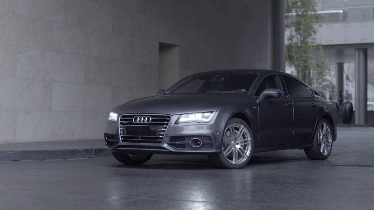 Audi Automatic Driving For Parking YouTube - Audi automatic car