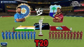 REAL CRICKET  18 LIVE-(IND VS WI)