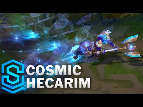 Cosmic Hecarim Skin Spotlight - Pre-Release - League of Legends