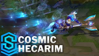 Cosmic Hecarim Skin Spotlight - Pre-Release - League of Legends
