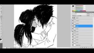 Как рисовать аниме (How to draw the anime)
