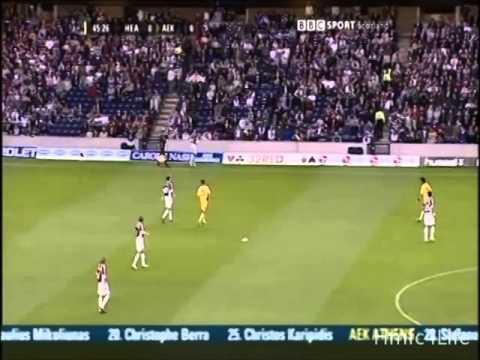 Hearts Vs AEK Athens (1-2) (9-08-2006)