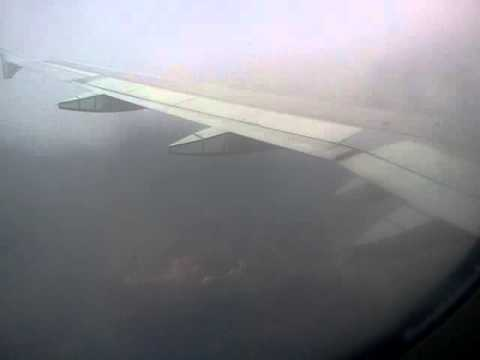 Turbulent Decent Into Kingston Jamaica, Air Canada 984 From Toronto