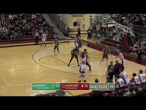 19-20 UChicago Men's Basketball Highlights