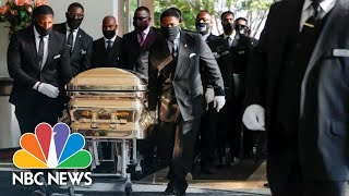 Live: Funeral For George Floyd Held In Houston | NBC News