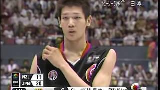 日本vsニュージーランド 世界バスケ2006