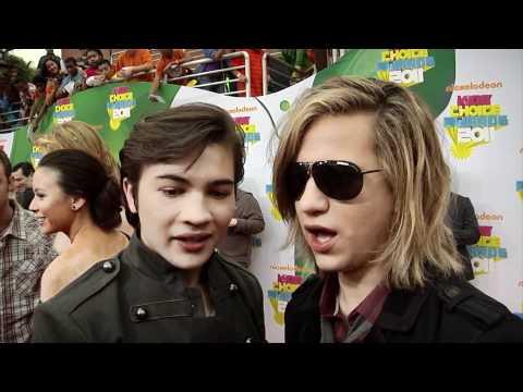 Taylor Gray & Dillon Lane 2011 Kids' Choice Awards