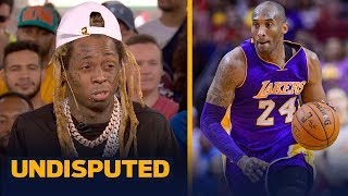 lil-wayne-on-expectations-for-lakers-in-first-game-since-kobe-s-death-undisputed-live-from-miami