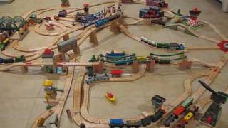 Smudgersirhandel's New Updated Thomas Wooden Railway Layout