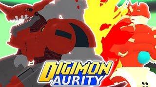 Digimon Aurity - CHAOSDRAMON & SHINEGREYMON BURST MODE ARE BACK!!! (Juego de Roblox)