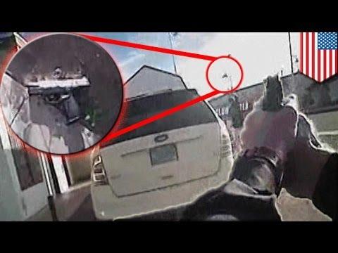 Albuquerque police shooting raw video from lapel camera