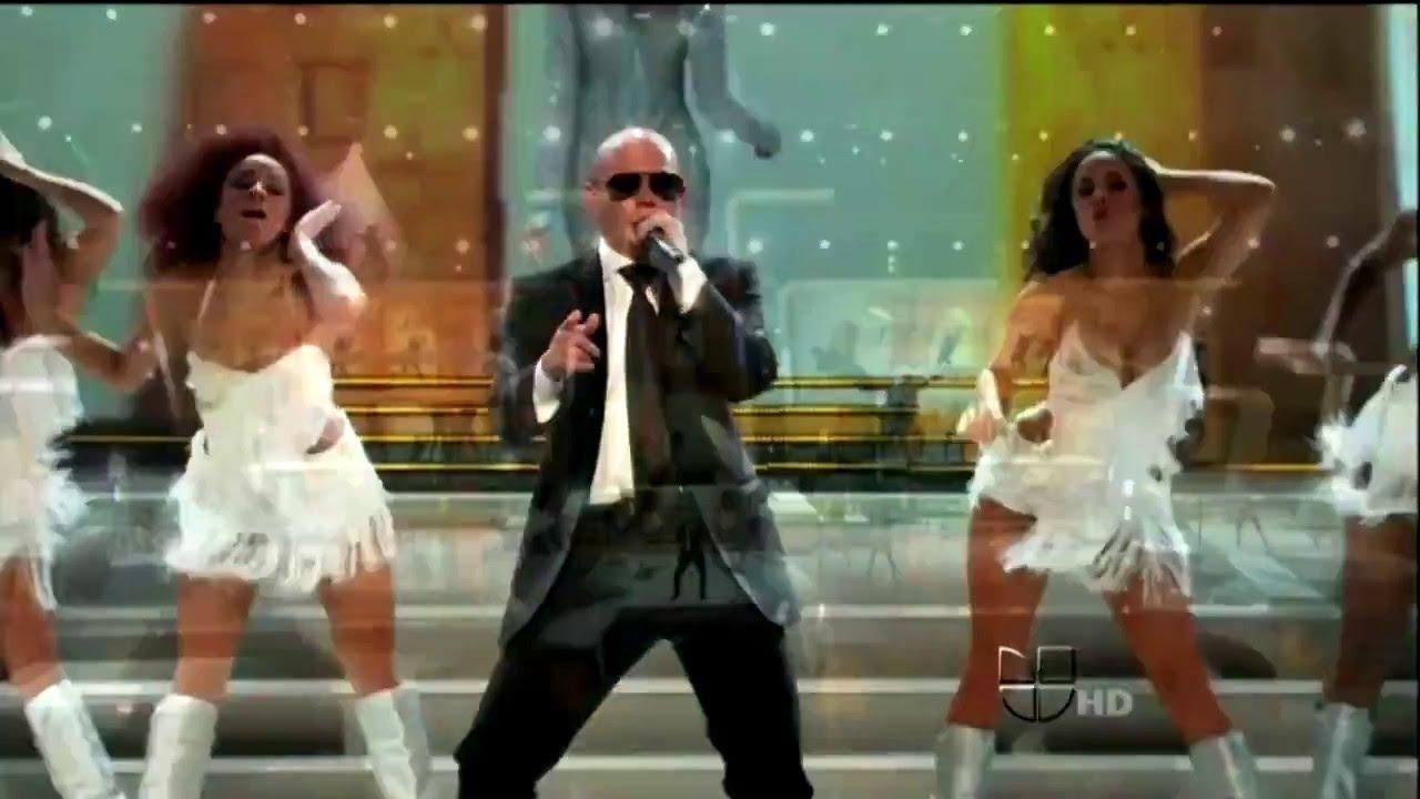 Download Bom Bom (Pa Panamericano)- Pitbull en Premios Lo Nuestro 2011