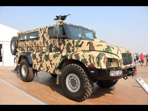 BAE Systems South Africa has launched RG21 4x4 mine protected vehicle armoured at AAD 2014