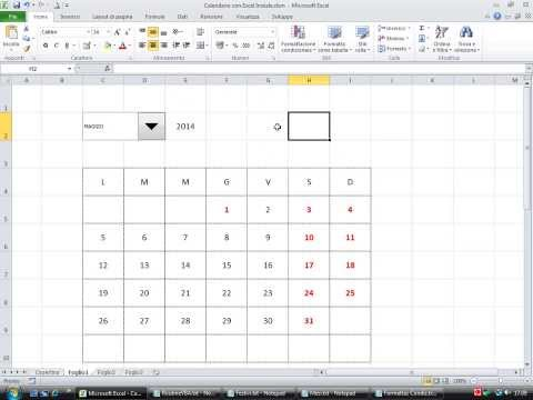 Fare Un Calendario Con Foto.Come Creare Un Calendario Con Excel Very Tech