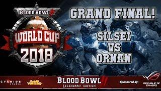 FINAL of the Blood Bowl 2 WORLD CUP! official cast - Silsei (Undead) vs Ornan (Humans)
