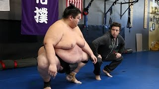 Repeat youtube video 'Average Andy' with World Sumo Champion Yama