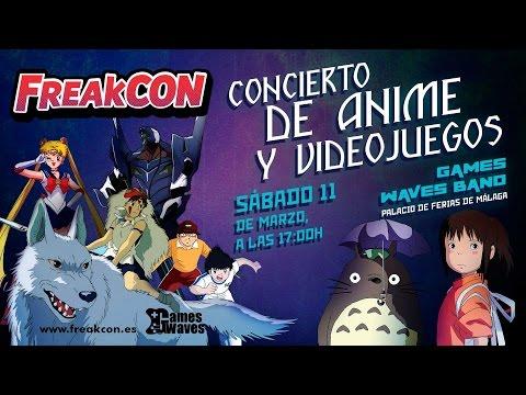 CONCIERTO FREAKCON GAMES WAVES BAND EN DIRECTO!!!
