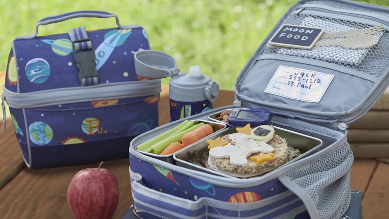 Lunch Bags From Pottery Barn Kids Youtube