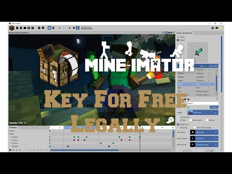 Mineimator Key Free! (LEGALLY)