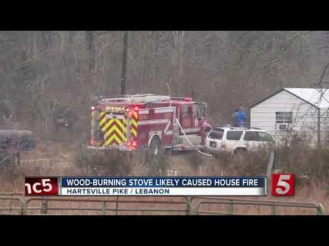 2 escape Wilson County house fire